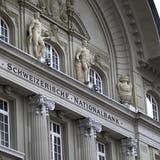 Der Hauptsitz der Schweizerischen Nationalbank in Bern. (Bild: Gaetan Bally/Keystone (12. März 2018))