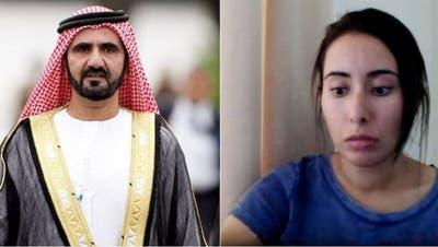 PrinzessinLatifa al Maktoum(rechts) erhob in einem im Internet veröffentlichten Video, schwere Vorwürfen gegen ihren VaterScheich Mohammed bin Rashid al-Maktoum. (Bild: Screenshot)