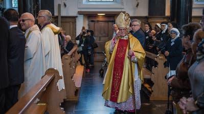 «Gesellschaftlicher Druck»: Der Churer Bischof Vitus Huonder sorgt sich um die Religionsfreiheit