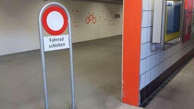 Alter Posttunnel unter Luzerner Bahnhof soll als Veloparking dienen
