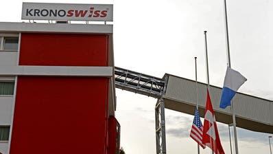 INDUSTRIE: Laminatbodenproduzent Swiss Krono steigert Umsatz