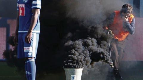 JUSTIZ: Luzerner Pyro-Opfer bleibt auf Kosten sitzen