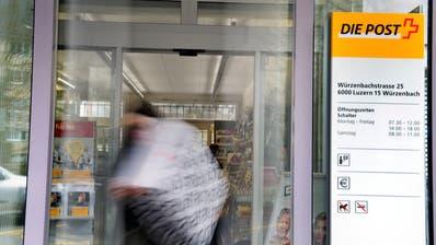 LUZERN: Die Post streicht in der Stadt Luzern vier weitere Poststellen
