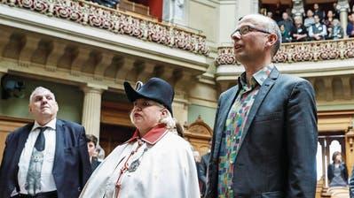 WAHLEN: Michael Töngi als neues Mitglied des Nationalrates vereidigt