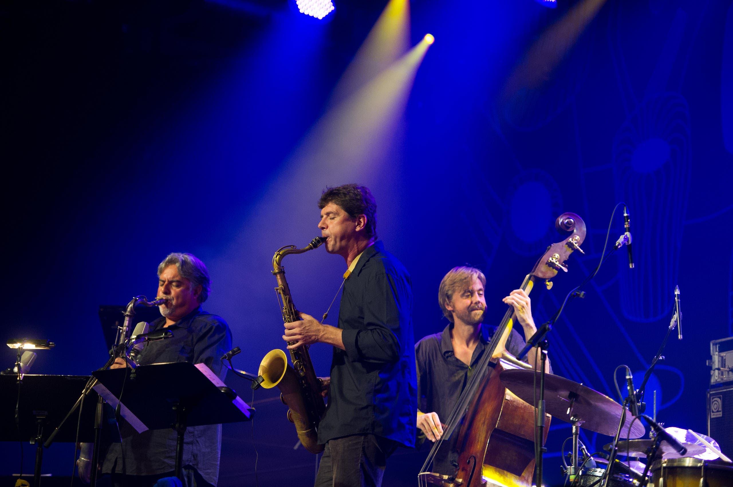 Chris Lightcap's Bigmouth am Samstag in Concert. (Bild: Corinne Glanzmann / Neue LZ)