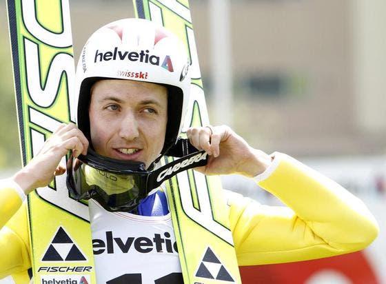 Simon Ammann. (Bild: Keystone)