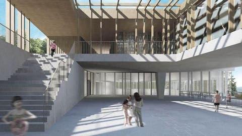 MALTERS: Schulanlage wird massiv erweitert