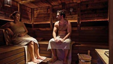 knutwil sauna sorgt f r rote k pfe luzerner zeitung. Black Bedroom Furniture Sets. Home Design Ideas