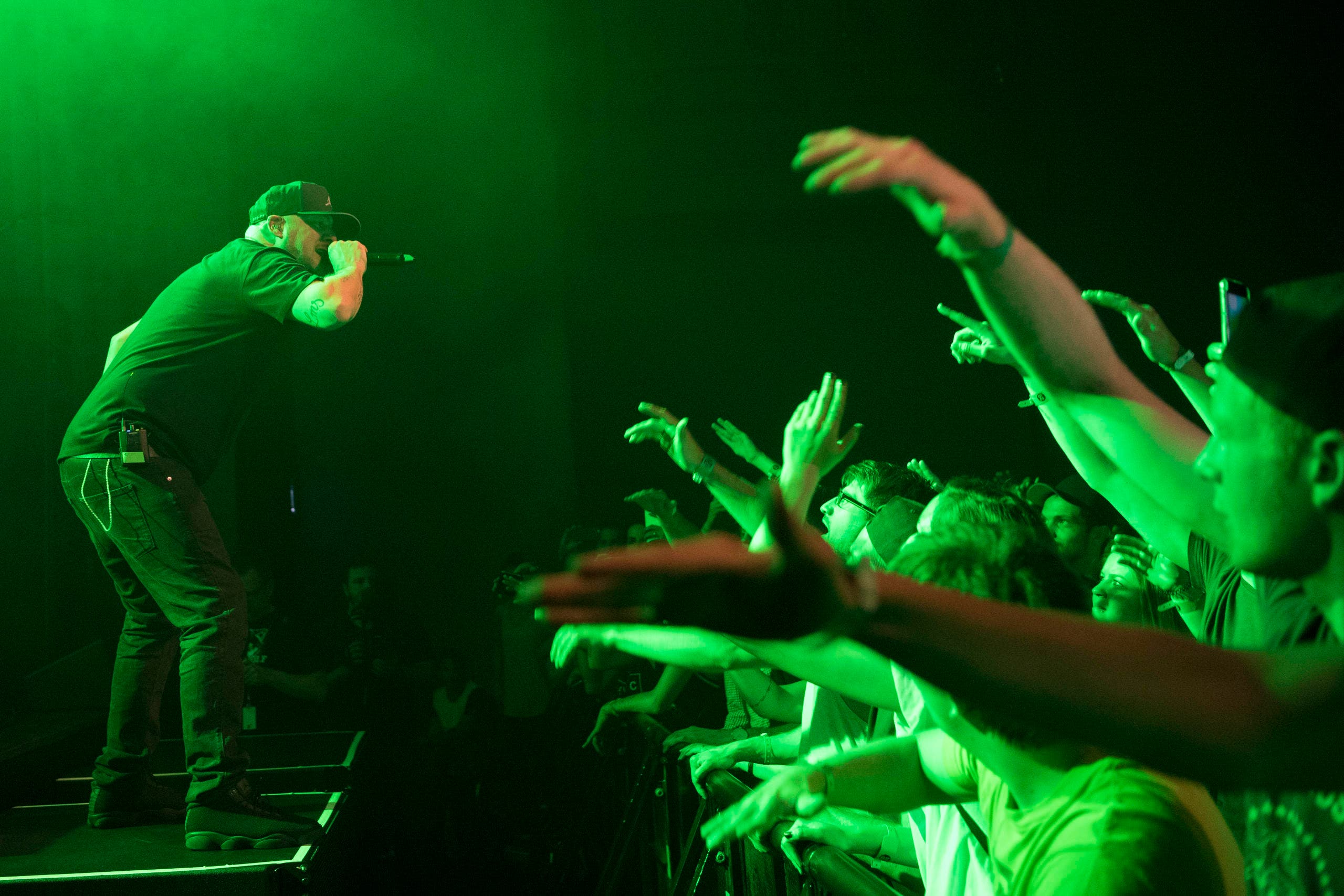 Rapper Kool Savas (Bild: Keystone / Urs Flüeler)