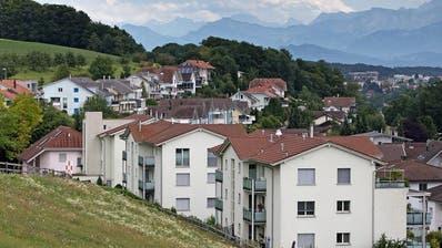 Blick auf die Gemeinde Eich. (Bild: Corinne Glanzmann, 31. Juli 2017)