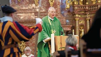 Bistum Chur: Jetzt soll es der Nuntius richten