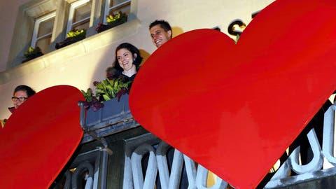 CHRÖÖPFELIMEE-SINGEN: Ein Ständchen für die Liebe
