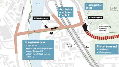 LUZERN: Wehrt sich die Stadt Luzern juristisch gegen die Spange Nord?