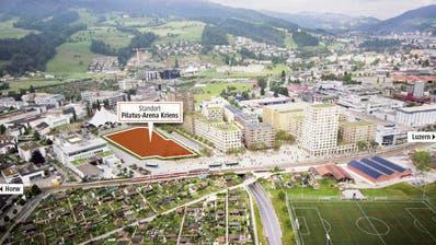In Kriens entsteht eine Sporthalle von nationaler Bedeutung