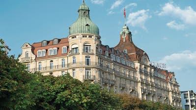 Luzerner Fünfsternehaus wird für 100 Millionen Franken totalsaniert