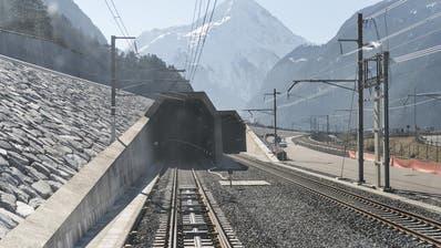 Der Bau des Gotthard-Basistunnels im Zeitraffer
