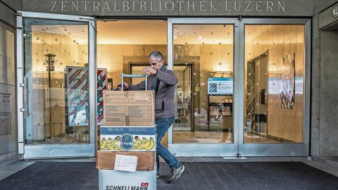 BAUPROJEKT: ZHB Luzern: Jetzt müssen die Bücher raus