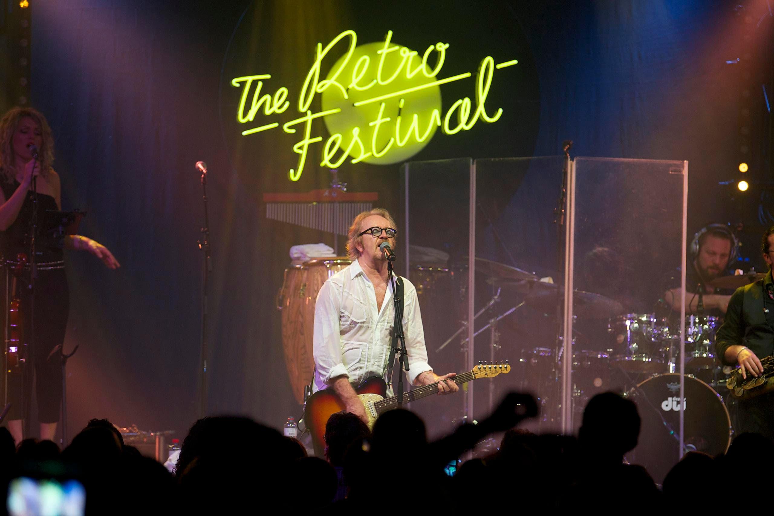 Umberto Tozzi eröffnete das Festival am Mittwoch. (Bild: Marc Gilgen/The Retro Festival)