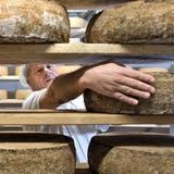 Werner Roth ist Geschäftsführer der Käserei Neudorf – eine von drei Käsereien, die unter der Marke «Michelsamt» produziert. (Bild: Nadia Schärli, 13. Oktober 2015)