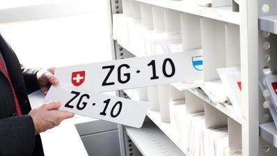 ZUG: Schweizer Rekord! Autonummer «ZG 10» wird für 233'000 Franken ersteigert