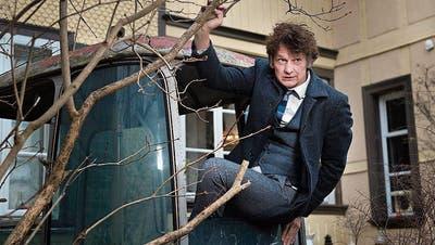 Auch Slam-Poet Christoph Simon, Salzburger Stier-Preisträger 2018, wird in Luzern auftreten. (Bild: Dominik Wunderli, Bern, 28. November 2017)