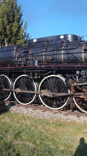TRIENGEN: Filmdreh entlang der Zugstrecke Sursee – Triengen mit Originaldampflokomotive