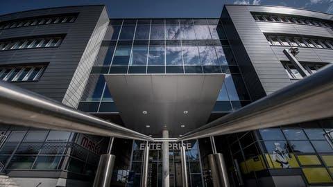 Der ehemalige Sitz von Comparex Schweiz in Sursee. (Bild: Pius Amrein)
