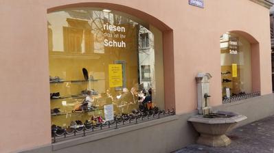 GESCHÄFTSSCHLIESSUNG: Schuhhaus Riesen in der Stadt Luzern schliesst seine Türen