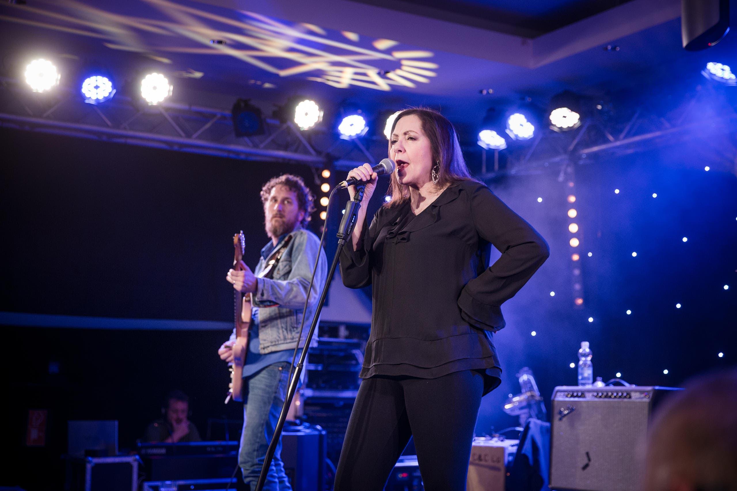 Die Texanerin Lou Ann Barton tritt im Casino Luzern im Rahmen des Lucerne Blues Festivals auf. (Bild: Manuela Jans- Koch (LZ))