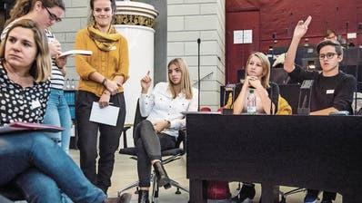 POLITIK: Debattieren ist in Luzern besonders trendy