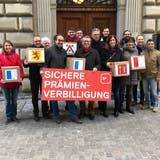 LUZERN: SP reicht Initiative für eine sichere Prämienverbilligung ein