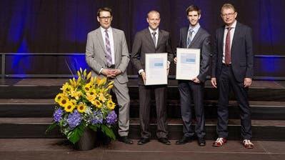 AUSZEICHNUNG: 4000 Franken für Informatikstudenten der HSLU