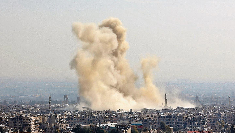 SYRIEN: Assad-Regime geht mit Flammenwerfern gegen Rebellen vor