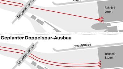 LUZERN: Zentralbahn plant Ausbau: Umbau für die Doppelspur
