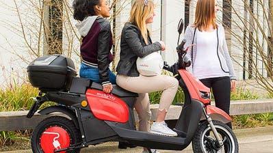 MOBILITÄT: Mobility lanciert umweltfreundliche Elektro-Roller in Zürich