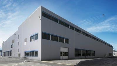 EMMEN: Ruag Aerostructures übernimmt erweiterte Industriehalle mit Oberflächenbehandlungsanlage