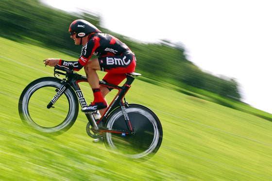 Am Schluss hatte Mathias Frank 41 Sekunden Rückstand auf den Sieger. (Bild: Philipp Schmidli/Neue LZ)