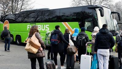 FERNBUSSE: Die Schweiz ist für Flixbus eine harte Nuss