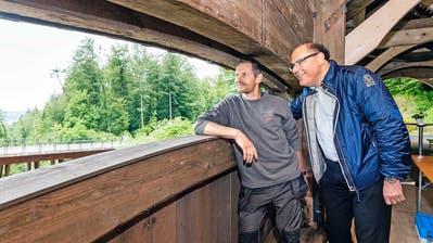 KRIENS: Der Hergiswald ist jetzt ein Muss für Brückenfans