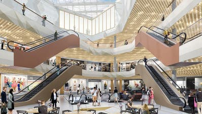 EBIKON: Mit diesen 104 Läden und Restaurants startet die Mall of Switzerland