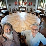 WASSERTURM: Ein neuer Tisch nach alter Kunst