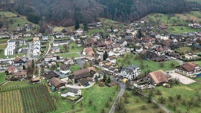 Blick auf die Gemeinde Altwis, die mit Hitzkirch fusionieren will. (Bild: Pius Amrein, 23. Dezember 2017)