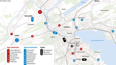 Stadt Luzern soll «Dorfplätze» erhalten