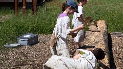 WAUWILERMOOS: Schulprojekt: Die «Steinzeit» ist vorbei