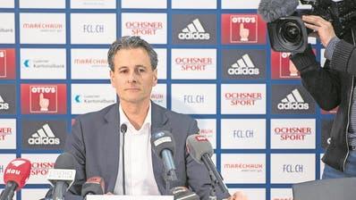 FUSSBALL: CEO Marcel Kälin muss gehen – Präsident Philipp Studhalter schweigt