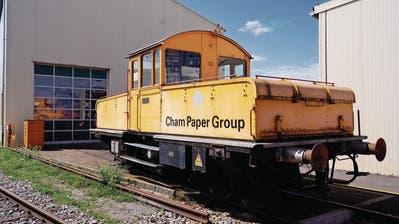 CHAM: Das Papieribähnli steht auf dem Abstellgleis