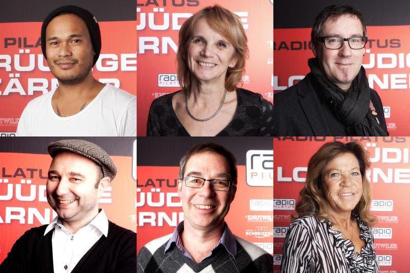 Das sind die 6 Finalisten: (Bild: PD)