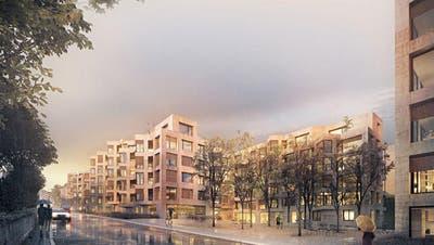 LUZERN: Basler gewinnen Architekturwettbewerb für neue Siedlung an Bernstrasse