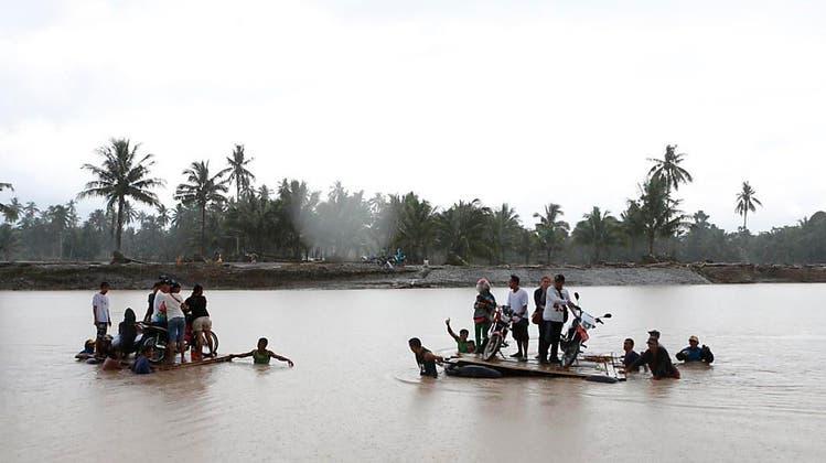 MANILA: Tropensturm auf den Philippinen – 133 Tote