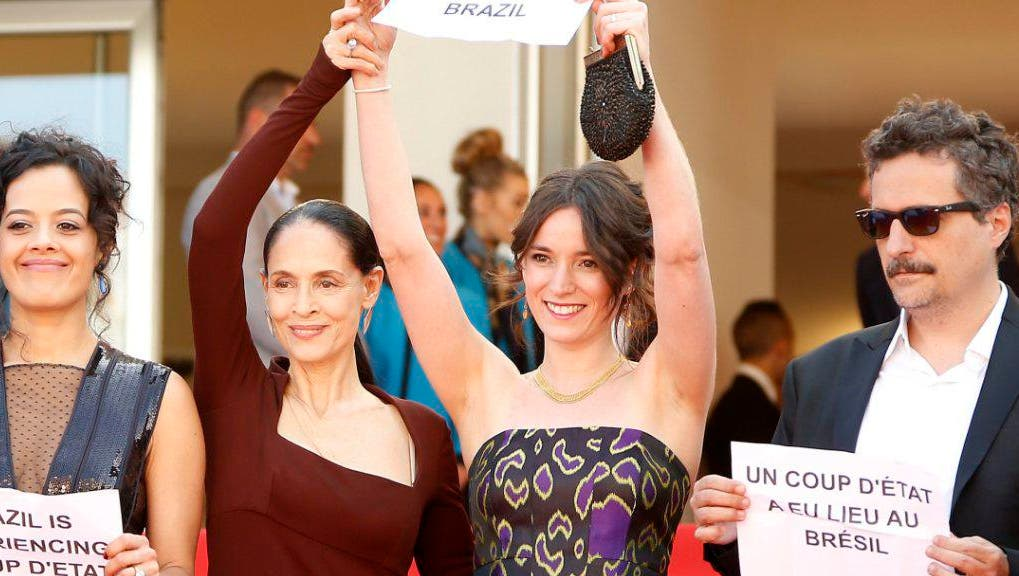 FILMFESTIVAL - BRASILIEN: Rousseff erhält Unterstützung in Cannes